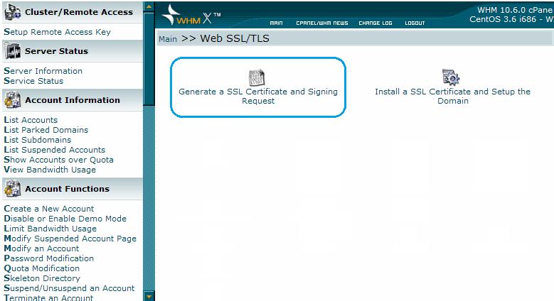 生成SSL证书和签名请求