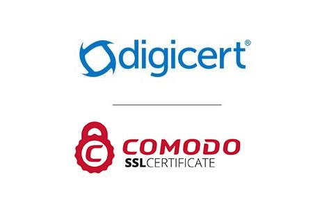 DigiCert和Comodo SSL证书