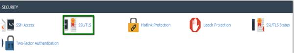 SSL TLS管理器