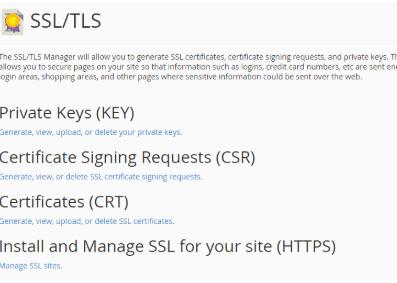 激活SSL
